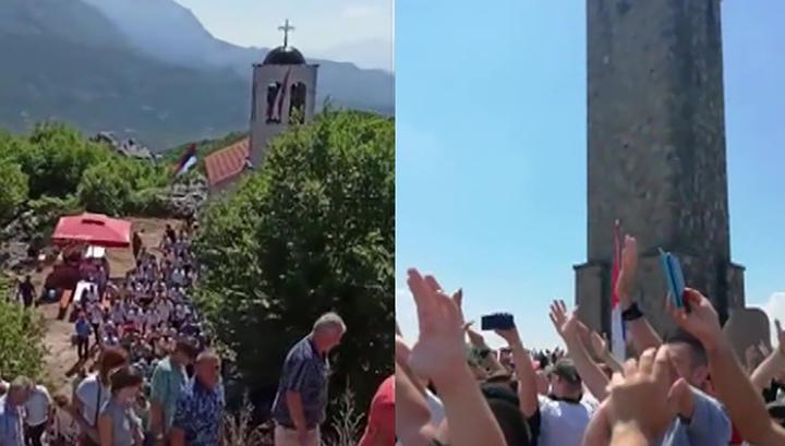 Вести.Ru Под Приштиной сербы отметили праздник, посвященный победе над турками