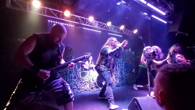 Soulfly Toxic Holocaust Evil Dead Death cover