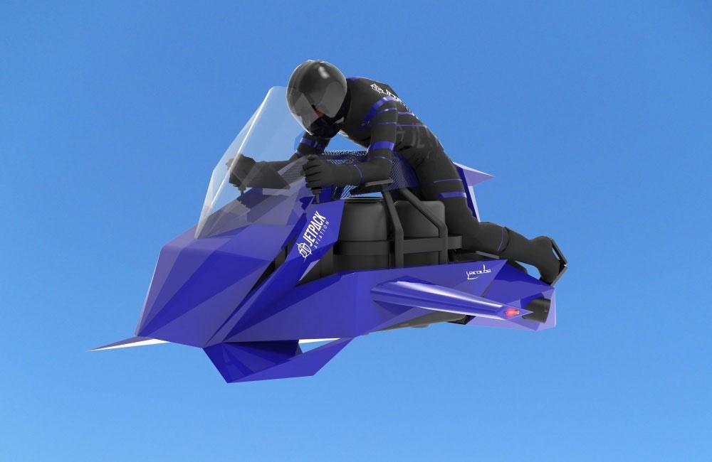 Летающий мотоцикл JetPack собрал финансирование