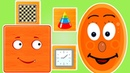 Геометрические фигуры для детей. КВАДРАТ Развивающие мультики для детей 0-5 лет.