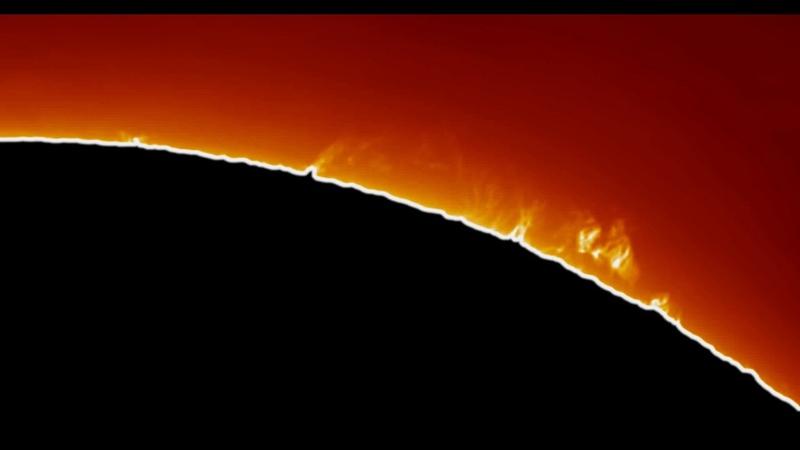 Solar Prominence Animation (1 Hour)