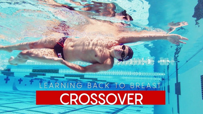 Fast Swimming Technique Back to Breast Turn