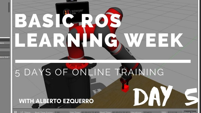 Basic ROS Learning Week - Day 5: Program a robot with ROS