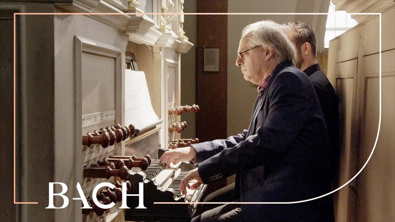 Bach Nun komm der Heiden Heiland BWV 659 Van Doeselaar Netherlands Bach Society