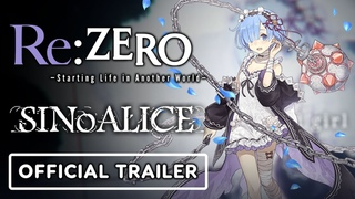 SINoALICE x Re:ZERO Starting Life in Another World - Official Collaboration Trailer