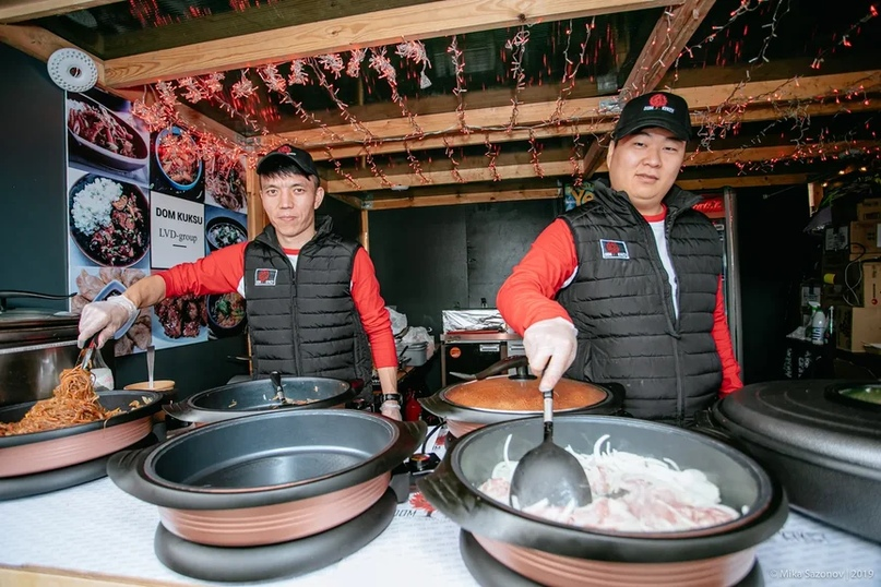 Национальная Корейская кухня.