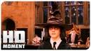 Распределяющая шляпа - Гарри Поттер и философский камень 2002 - Момент из фильма