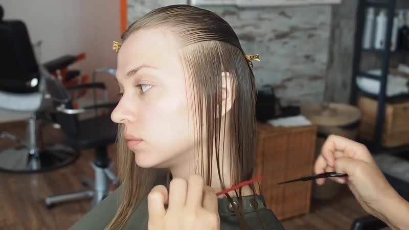 Как постричь идеальное каре Салон красоты Галатея Череповец