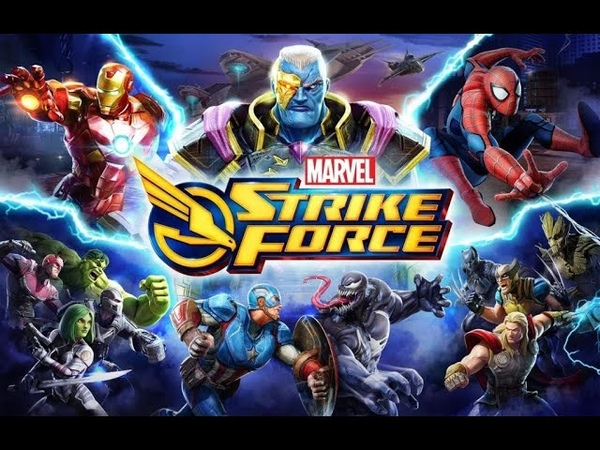 MARVEL Strike Force - Стрим игры. Защитники