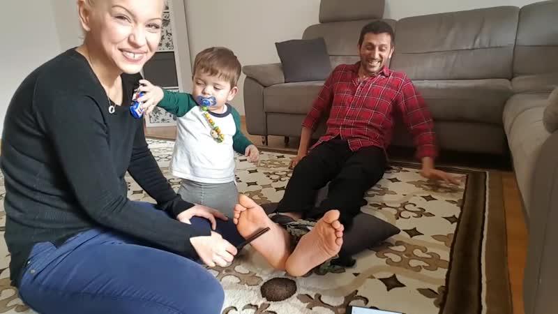 Adil Cezal Tickles Each Other Feet Part 1
