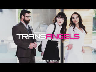 TRANSANGELS Spanked by the Sadistic Sex Fiends