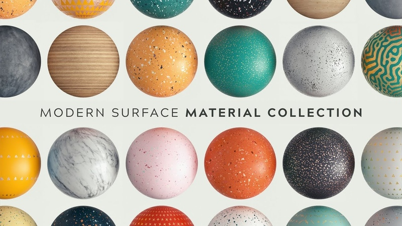 NEW Modern Surface Material Collection Greyscalegorilla
