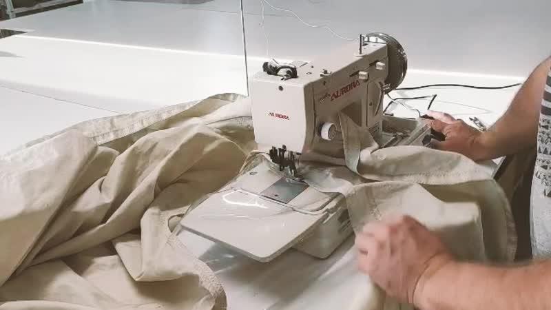 Отзыв о швейной машине строчки зиг-заг с шагающей лапкой и бытовым мотором Aurora A-2153-HM