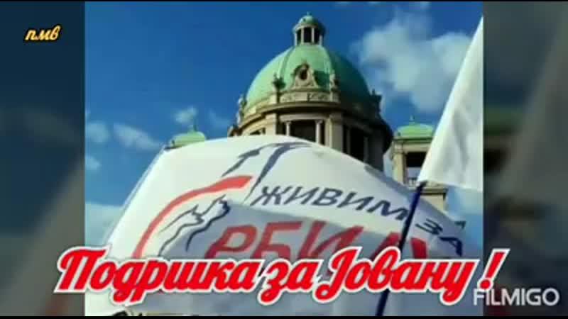 Подршка за др Јовану Стојковић - Поддержка дльа д-р Йована Стойкович