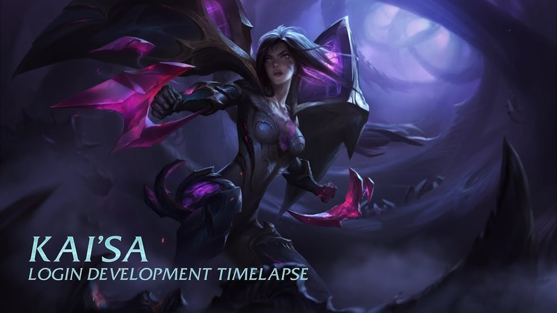 Kai'Sa Login Development Timelapse