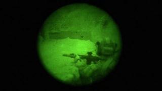 Ночная операция спецназа США против ИГ в Афганистане
