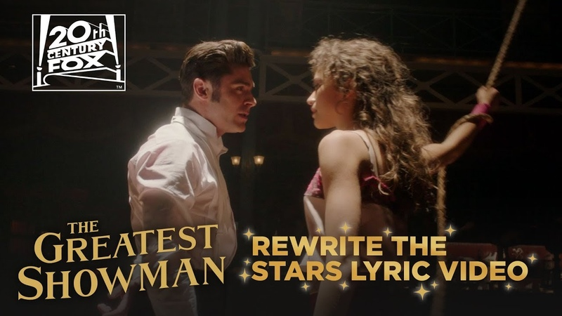 The Greatest Showman | Rewrite The Stars Lyric Video | Fox Family Entertainment
