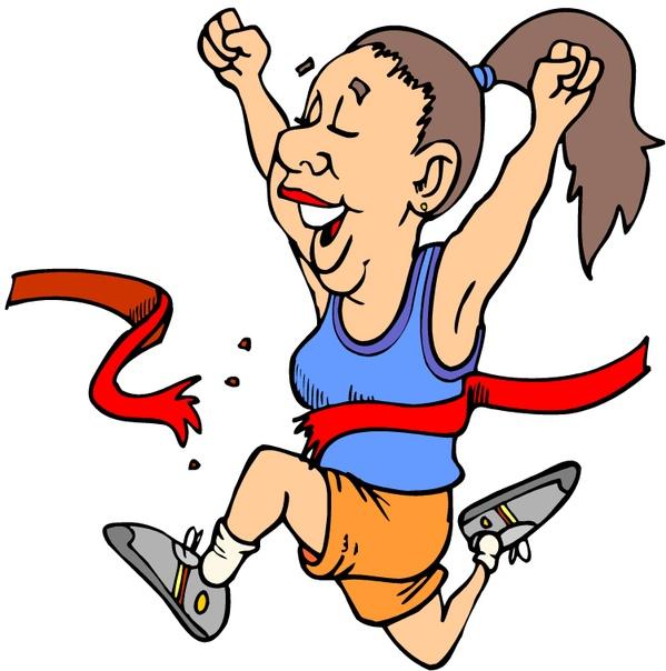 Лет девочке, рисованные смешные картинки про спорт