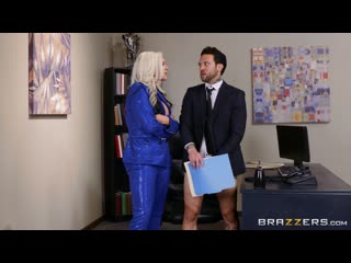 ] alena croft she's a smooth operator () [2020 г., average body, big ass, big tits, blonde, blowjob