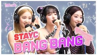 210420: STAYC – 'Bang Bang' (Jessie J, Ariana Grande, Nicki Minaj) @ MBC 'Dreaming Radio'