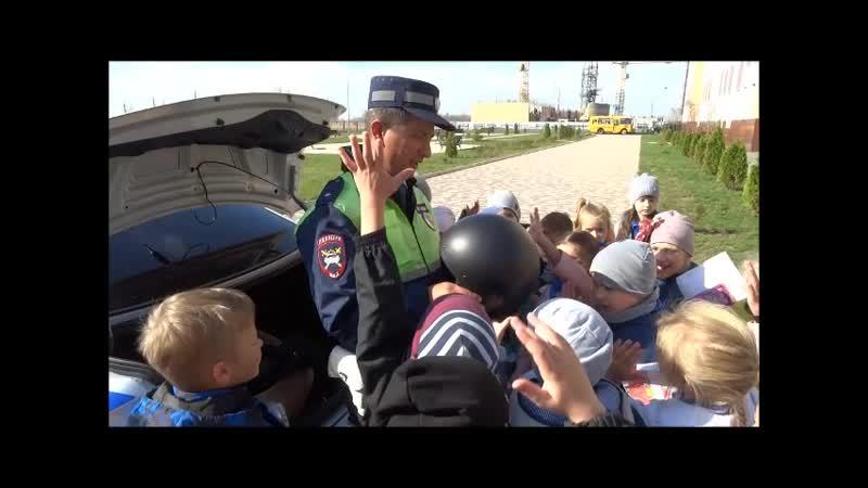 Ставропольские автоинспекторы пожелали школьникам краевого центра безопасных каникул