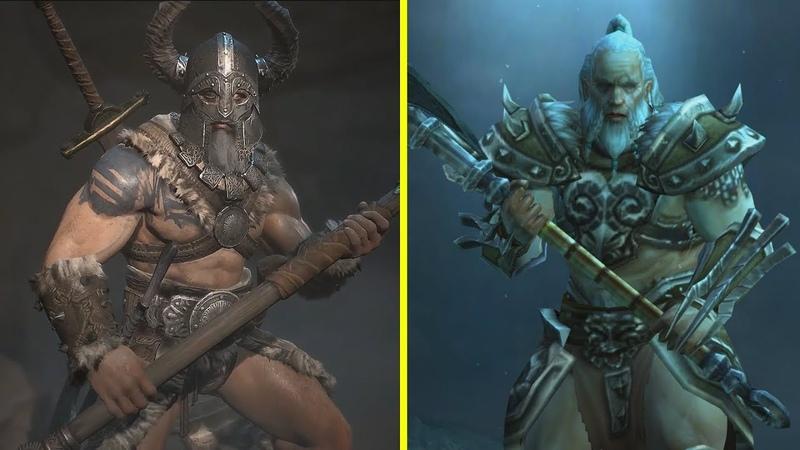 Diablo 4 vs Diablo 3 Returning Characters Early Comparison