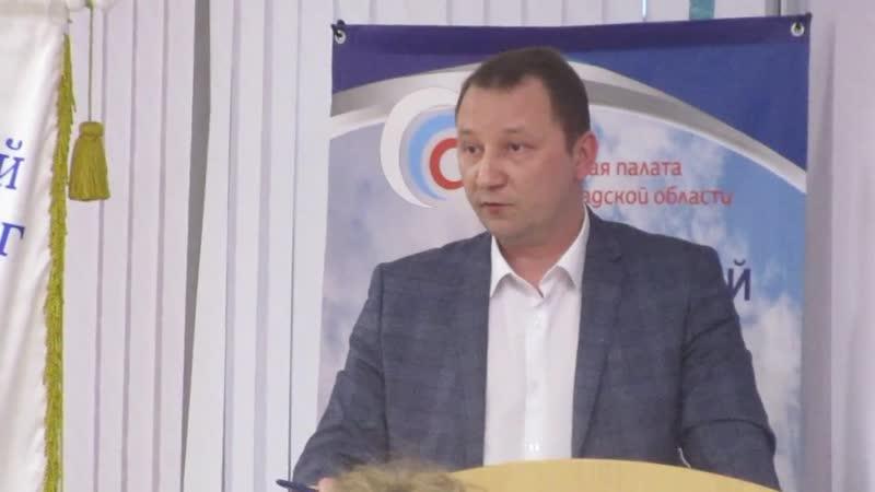 О ремонте лифтов рассказывает председатель комитета по управлению ЖКХ Антон Кобзев