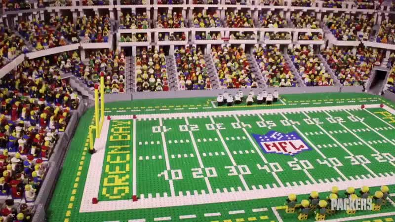 Packers Lego