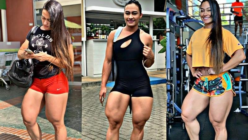 DON'T SKIP LEG DAY JESSICA OLAYA 🔥 LEGS WORKOUT MOTIVATION