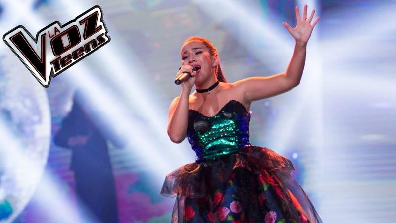 Jennifer canta 'Así no te amará jamás'   Final   La Voz Teens Colombia 2016