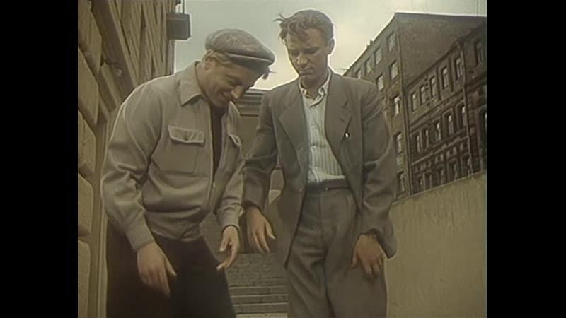 Николай Рыбников - О чём я печалюсь || Песня из фильма Девушка без адреса (1957) || В кадре Н.Рыбников и Юрий Белов