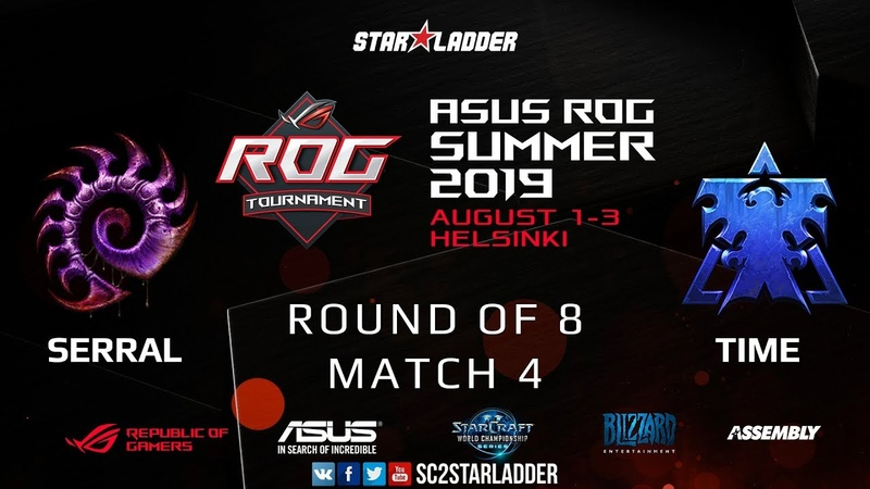 2019 Assembly Summer Ro8 Match 4: Serral (Z) vs TIME (T)