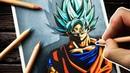 Drawing VEGETA Dragon Ball Xenoverse 2