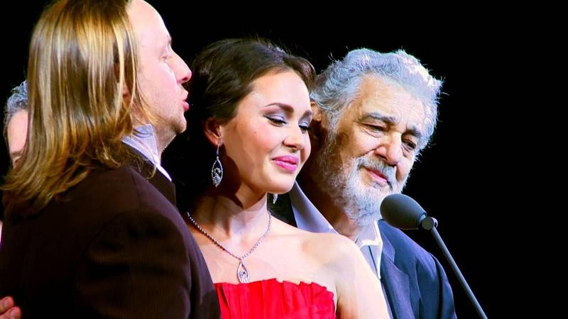 Placido Domingo Aida Garifullina Vladimir Dmitruk Non Ti Scordar Di Me Ernesto De Curtis