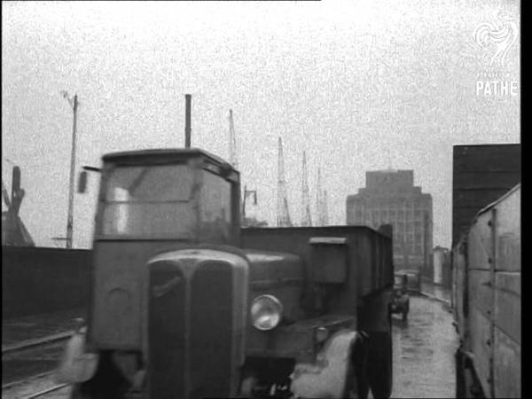 Nine Elms Rail Depot 'go Slow' Strike 1949
