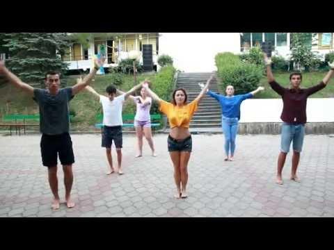 Shakira Waka Waka вожатский танец ДОЛ Нептун 2016