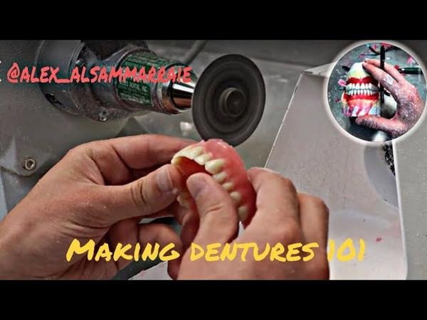 Making full upper denture from start to finish
