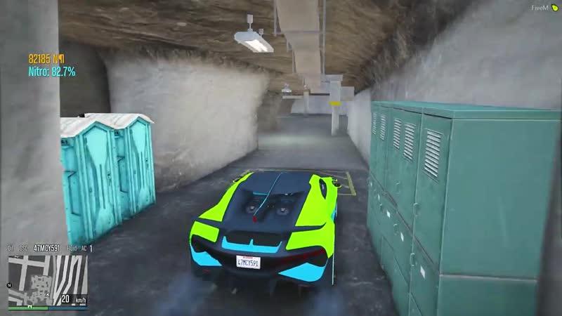 DONNY Битва Автоугонщиков В Гта 5 Онлайн Нашел Две Бугатти В Секретном Бункере Битва Воров Гта 5
