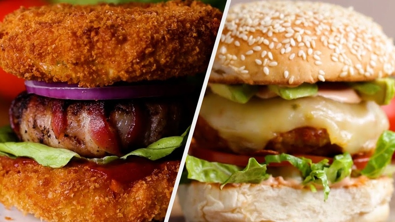 6 Versatile Burger Recipes Fit For Every Type of Eater • Tasty Recipes