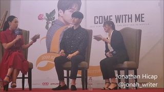 (FULL) Kim Myung Soo's press conference in Manila (Jan. 12, 2020) for his Come with Me fan meeting