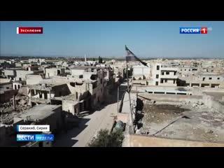 Эксклюзив из самой горячей точки сирии радикалы прикрываются турецкими военными