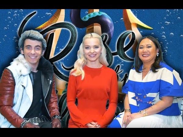 Interviewing DOVE CAMERON and MELISSA DE LA CRUZ! - Descendants 2 Rise of the Isle of the Lost