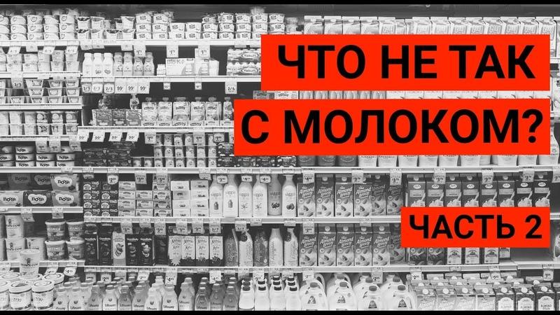Почему веганы не пьют молоко? Влияние молочных продуктов на здоровье. Часть 2