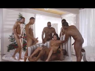 Anissa Kate [Porn, Sex, Blowjob, HD, 18+, Порно, Секс, Минет, Milf, Мамки, Мулатки, Mulattos, Brunette, Gangbang, Interracial]