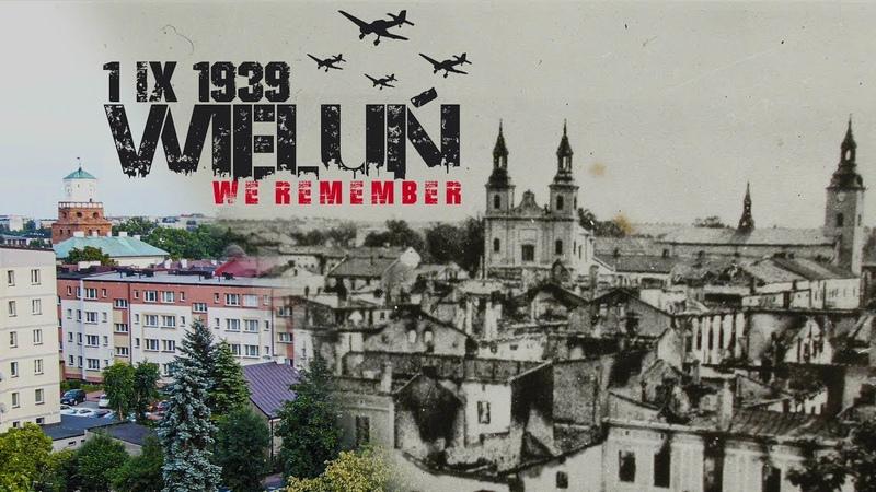 The bombing of Wieluń. Beginning of World War II. 80th Anniversary 1939-2019