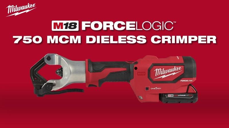 Milwaukee® M18™ FORCE LOGIC™ 750 MCM Dieless Crimper