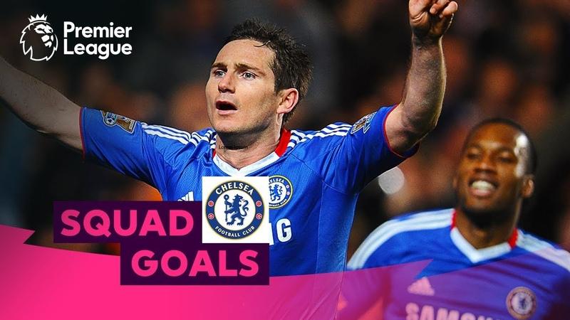 Crazy Chelsea Goals Lampard Hazard Drogba Squad Goals