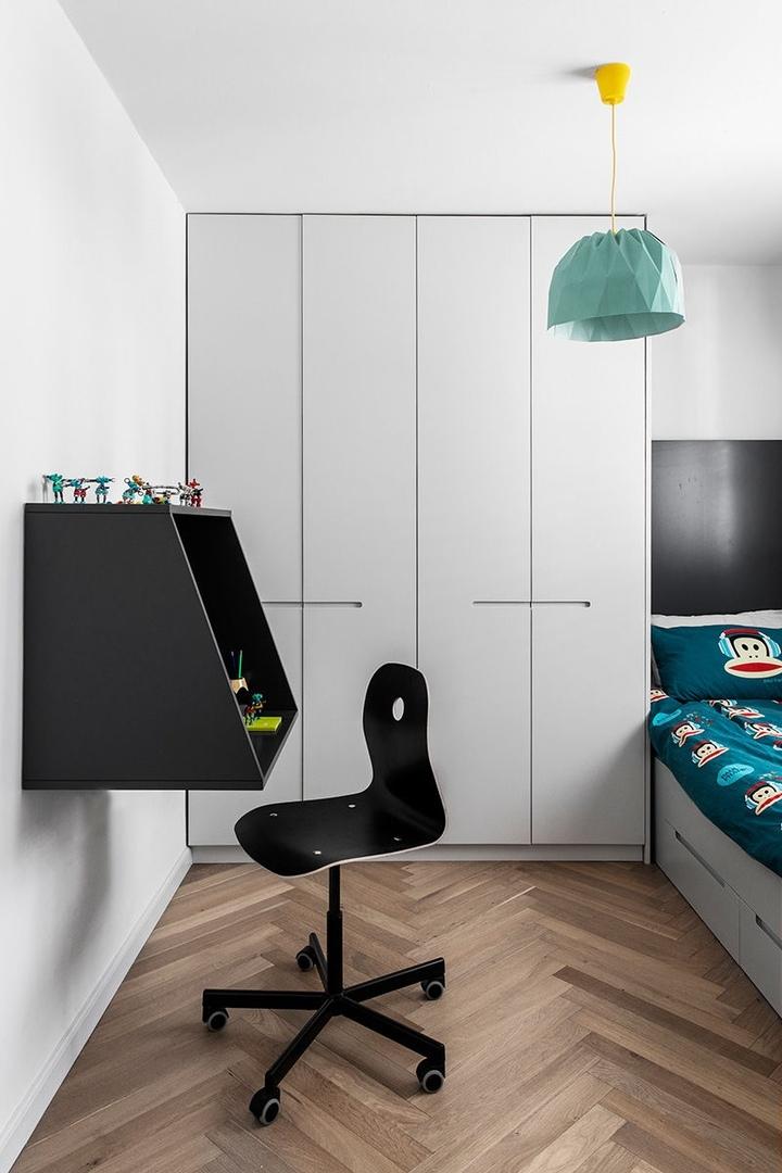 Стильная минималистичная квартира в Израиле для молодой семьи и собаки || 02