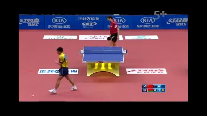 2013 Euro-Asia (D1_M3)_ Zhang Jike - Samsonov Vladimir [Full Match]