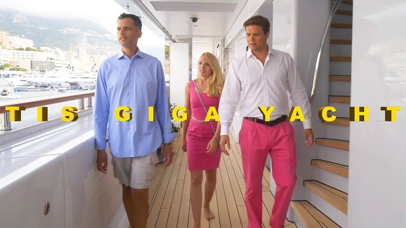 TIS 365 ft. Giga Yacht tour with The Yacht Guy